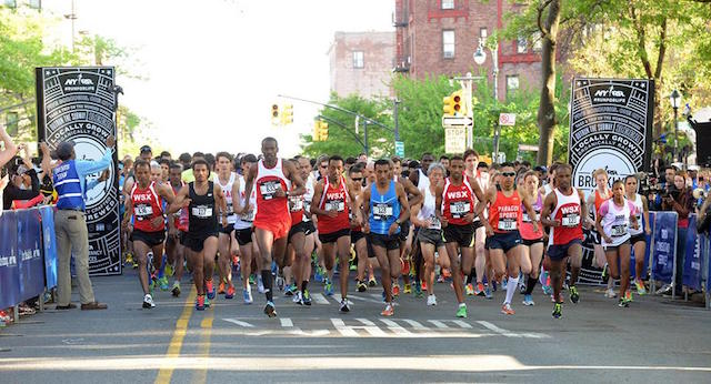 Here they come! The BK Half is back on Saturday. Photo: nyrr.org