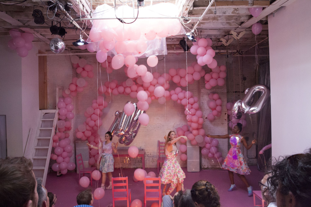 Cloud City, home to an art collective that hosts performances in its Williamsburg space. Photo: Ventiko
