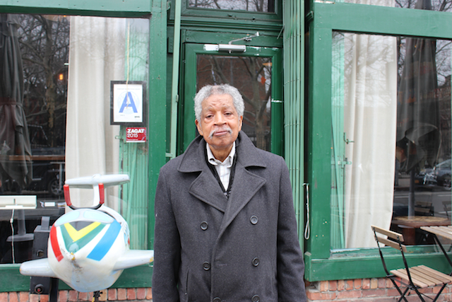 Mauricio Lorence has lived in Clinton Hill more than half his life. Photo: Gabrielle Sierra