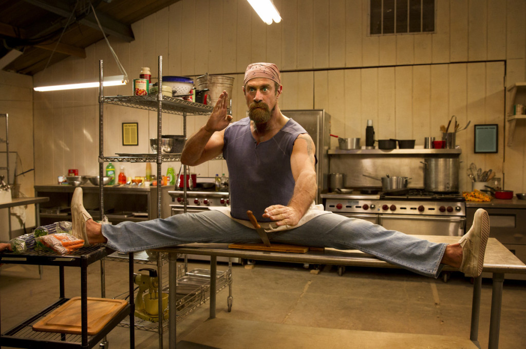 Christopher Meloni takes a break from the dramas like Law & Order and Oz that made him famous, for a bit of comic relief reprising his role as Gene in Wet Hot American Summer's new Netflix original series. Photo: Saeed Adyani/Netflix
