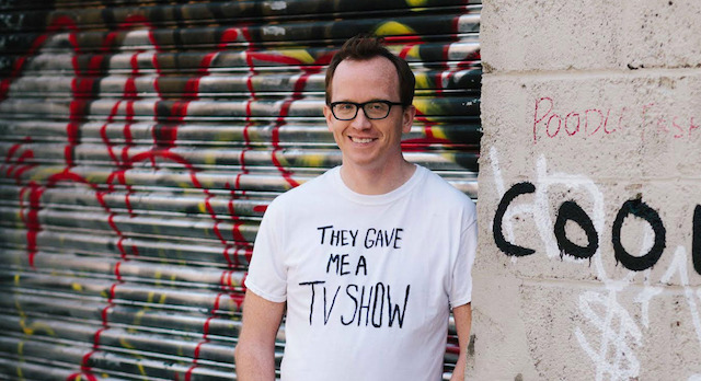 Comedian Chris Gethard, whose eponymous talk show premieres on Fusion this week, performs an hour of standup at Union Hall on Monday night. Photo: The Christ Gethard Show