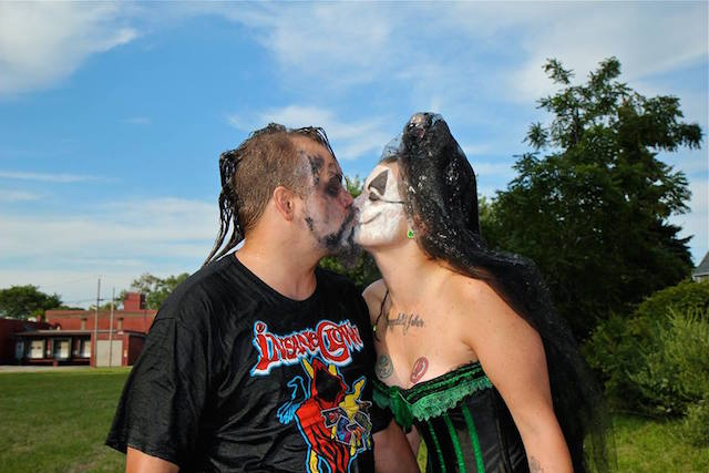 Juggalos, pickle-making skateboarders, and a bootleg action figure maker are some of the New Yorkers you'll meet at Rooftop Films' New York Non-Fiction documentary shorts series on Friday night. Photo: Buffalo Juggalos