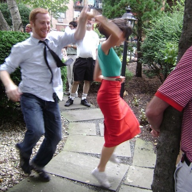 The Louis Armstrong House Museum's garden will be the perfect place to dance the summer away. Photo: Courtesy of Louis Armstrong House Museum