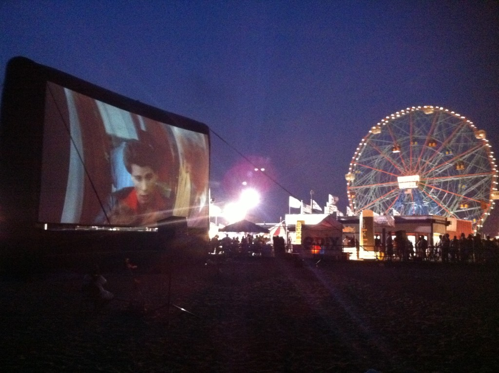 Ride the Wonder Wheel, eat a hot dog and catch a movie, all at Coney Island. Photo: NYEDC
