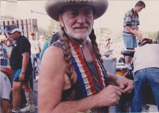 Country music legend and activist Willie Nelson closes out Celebrate Brooklyn's 2015 season next Wednesday. Photo: willienelson.com