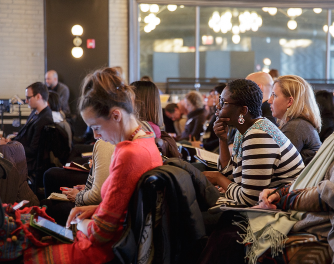 Last year's IMC at 501 Union. This year's edition will be more intimate and focused on skill building. Photo: Alison Brockhouse