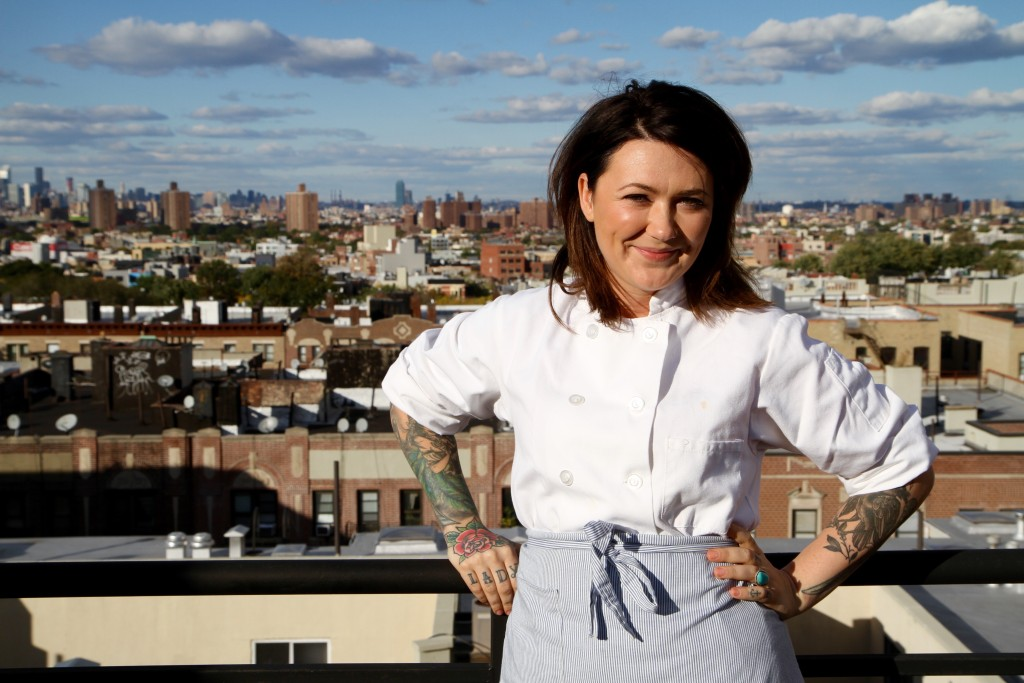 Lauren Gustus, head chef at Trivet. Photo: Trivet Foods