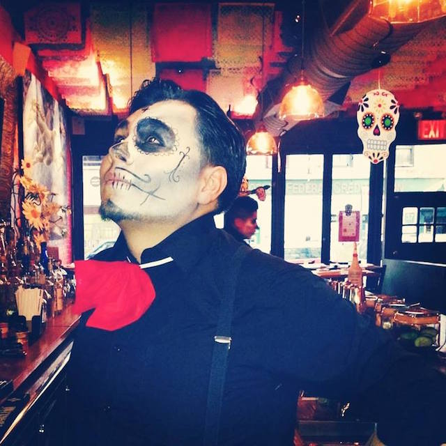 Celebrate Dia de los Muertos at Park Slope's FONDA on Tuesday night. Photo: FONDA