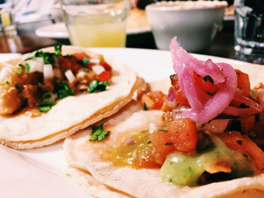 Jackfruit tacos are the new vegetarian thing. Photo: Regina Mogilevskaya