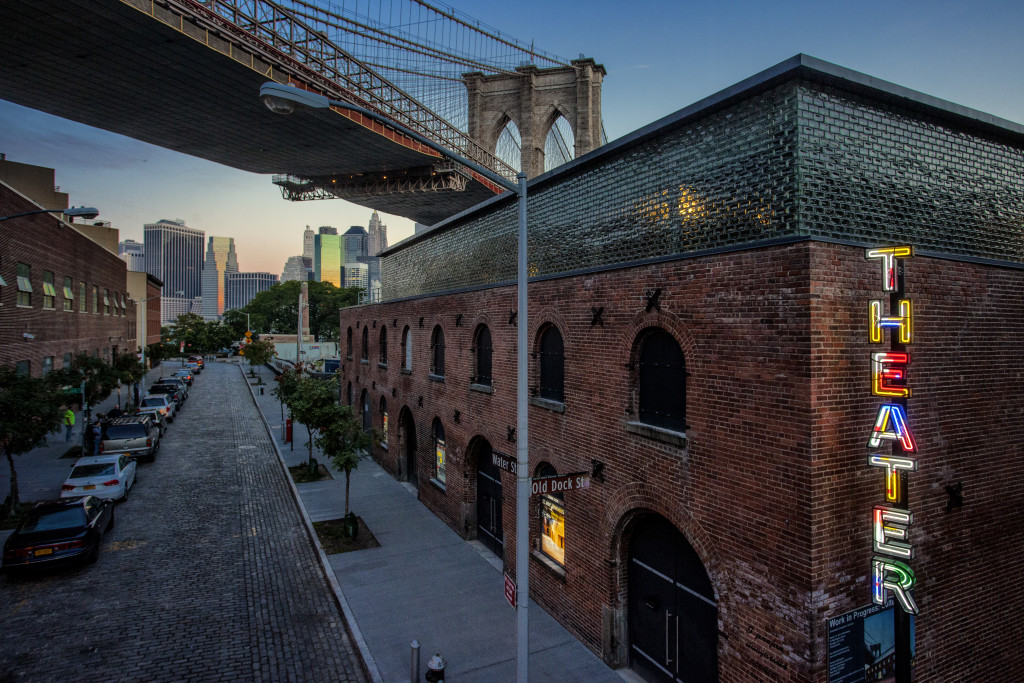 Following an ambitious capital campaign and restoration of the historic Tobacco Warehouse in DUMBO, St. Anne's Warehouse is beginning its inaugural season in the new space on Friday, Nov. 6. Photo: St. Ann's Warehouse
