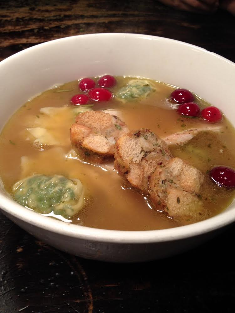 Thanksgiving ramen, coming next week to Talde. Photo: Talde