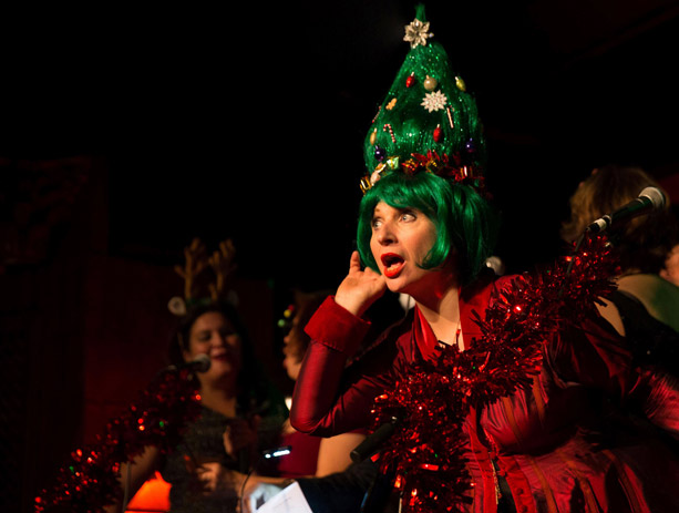 Christmas Without Tears is Judith Owen and Harry Shearer's answer to the Xmas blues. Photo: Kevin Arbinder