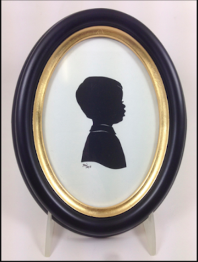 A silhouette portrait of each of your children is an heirloom worthy gift, and looks way more expensive than it costs. Photo: Brooklyn Women's Exchange