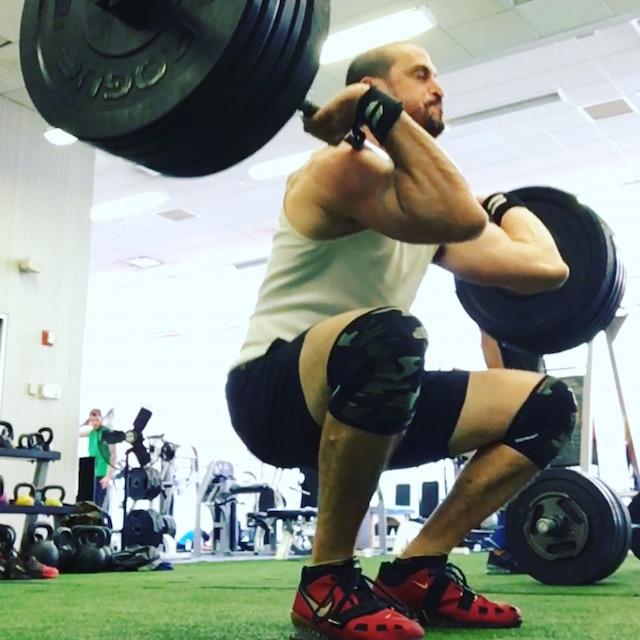 A man who can lift this much can also get your body in shape. Photo: Ethan Baum