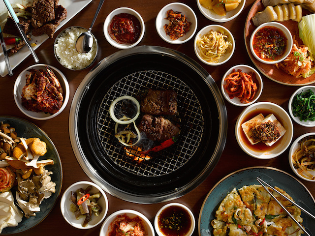 Dig into delicious Korean bbq before you serenade the crown with some killer karaoke at Gowanus newcomer Insa. Photo: Insa