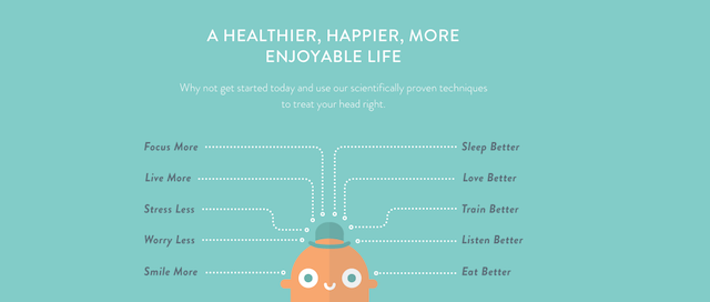 Meditation is free, but paying for a meditation app can keep you more focused and motivated. Photo: Headspace