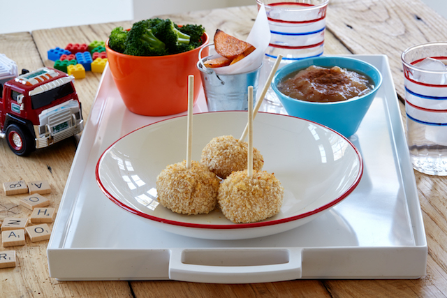 If your picky eater only eats things on sticks, Panda Plates will provide. Photo: Panda Plates