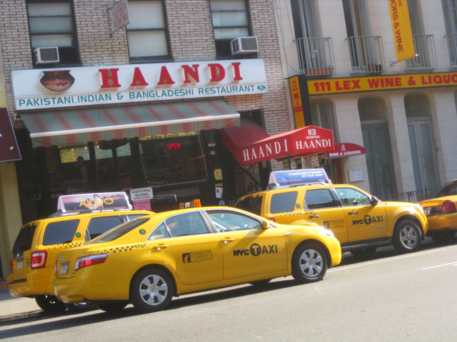 Haandi is well loved by many of New York's cabdrivers. Photo: Jason Lam via Flickr