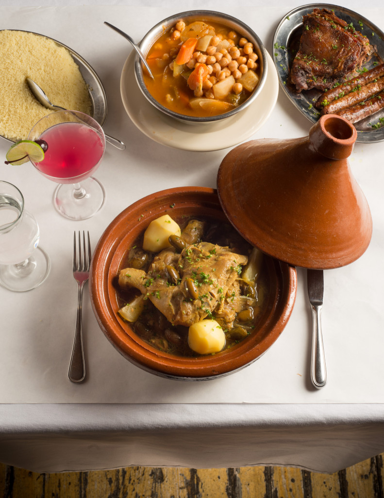 Tagine is king at Chez Omar. Photo: Spencer Starnes
