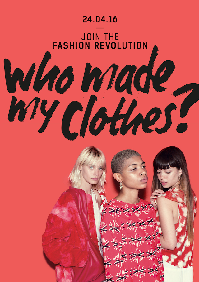 Help start a revolution on April 24th, but shopping these ethical (and economic) brands. Courtesy: Fashion Revolution Photo: Stephanie Sian Smith
