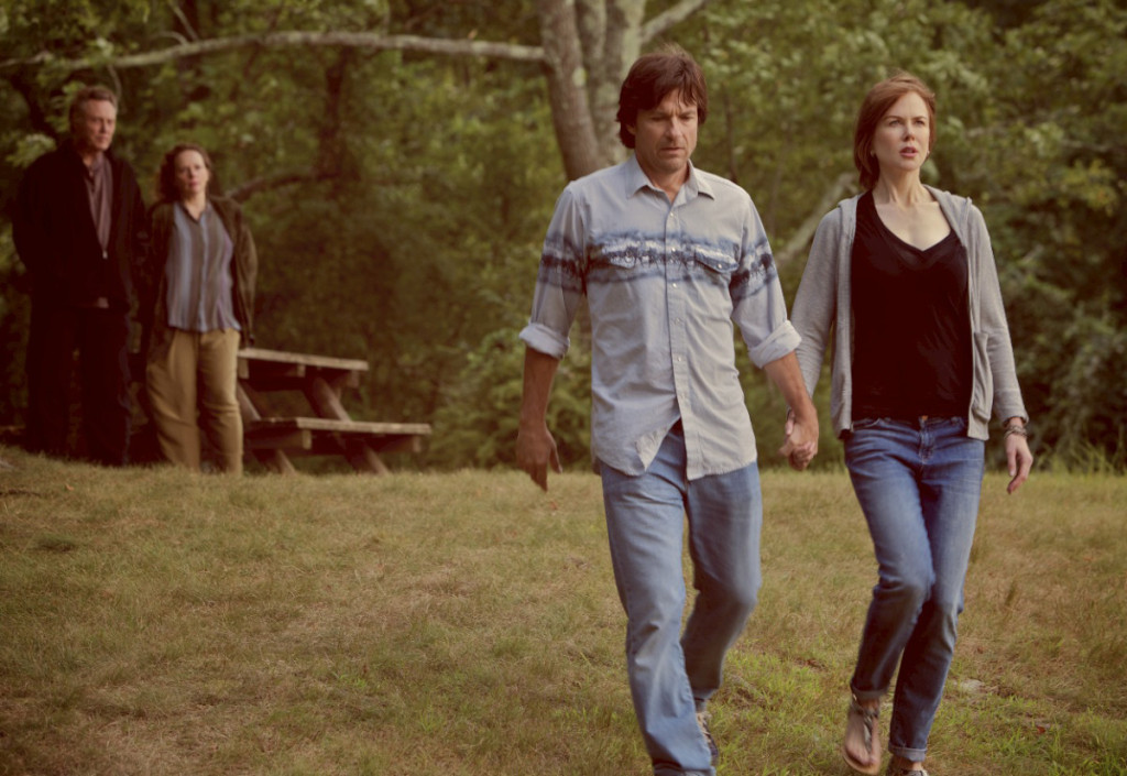 Jason Bateman as Baxter Fang and Nicole Kidman as Annie Fang in THE FAMILY FANG. Photographer: Alison Rosa