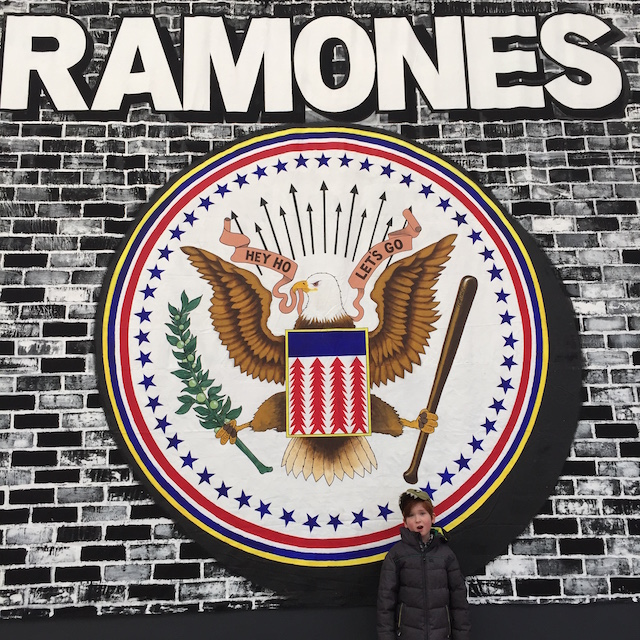 For kids, The Ramones are a great introduction to classic punk. Photo: Meredith Craig de Pietro