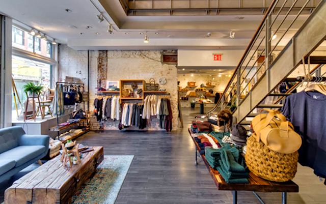 Get your quick fashion fix at Northern Grade's Seaport store, without any of the guilt. Photo: Northern Grade