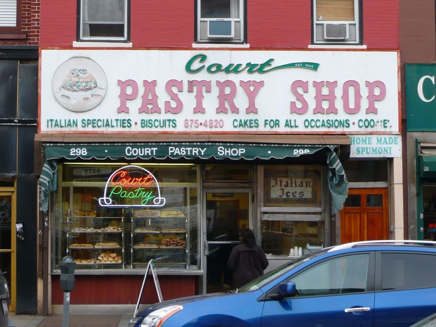 Get your cannoli fix at Court Pastry Shop, a neighborhood favorite since 1948. They're offering a buy one small pastry, get one free deal. Photo: Newsday