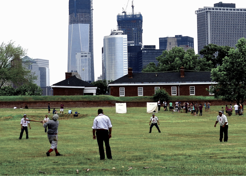 The Gotham Base Ball Club will host its annual Vintage Baseball Game once a month starting in July Photo: Governors Island