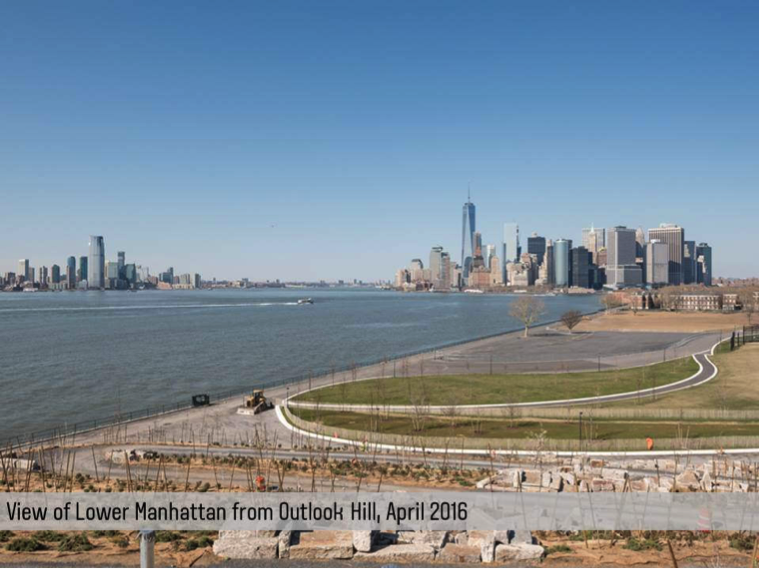 The view from Outlook Hill as of April 2016. Photo: The Trust For Governors Island