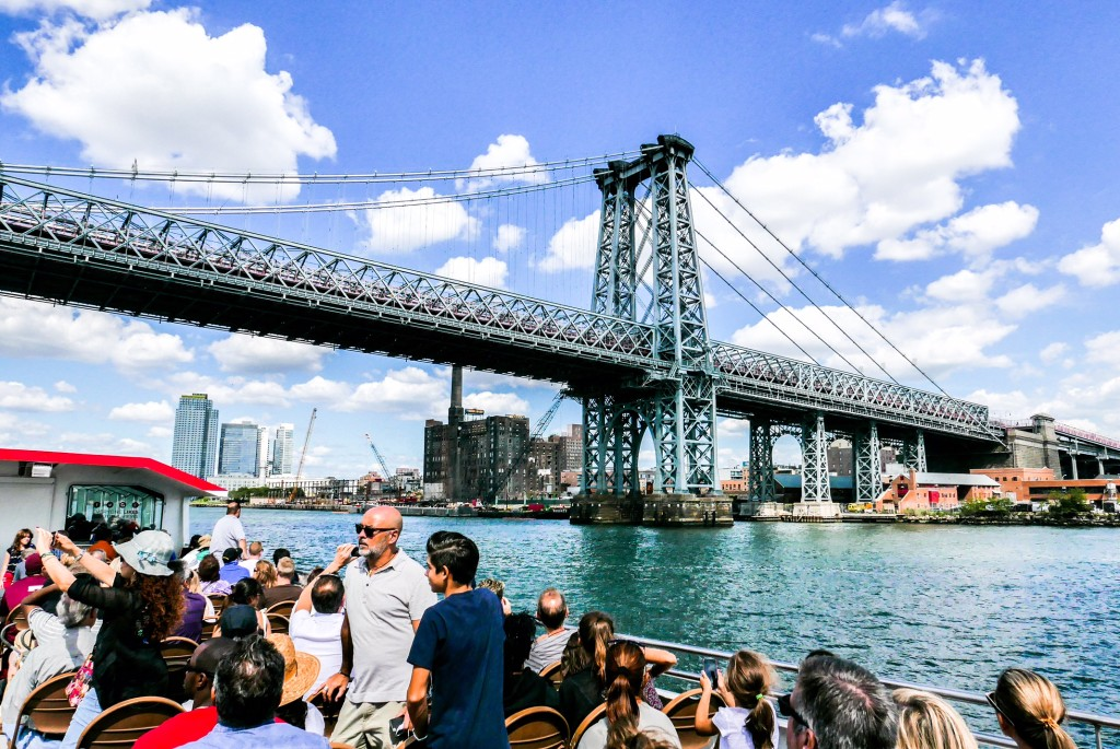 Seeing Brooklyn by boat offers a whole new perspective on the borough Photo: Circle Line