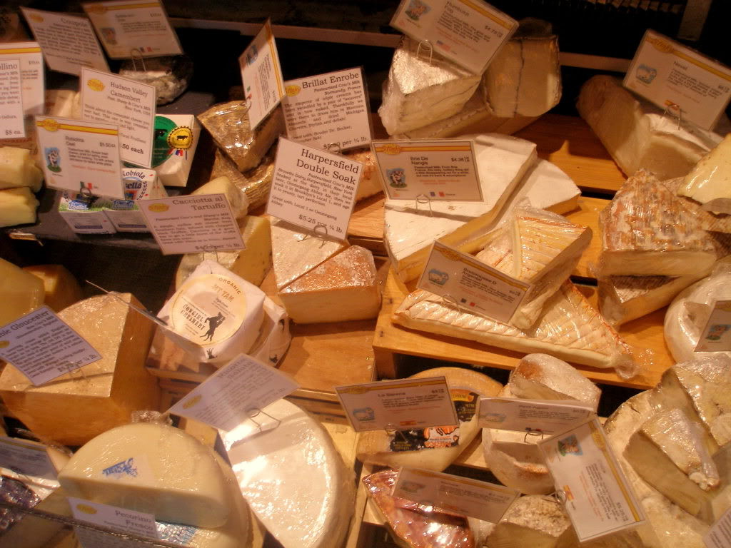 Happiness is a full cheese plate. Stock up at Stinky Bklyn, they're offering 20% off all cheeses for Immersion goers.