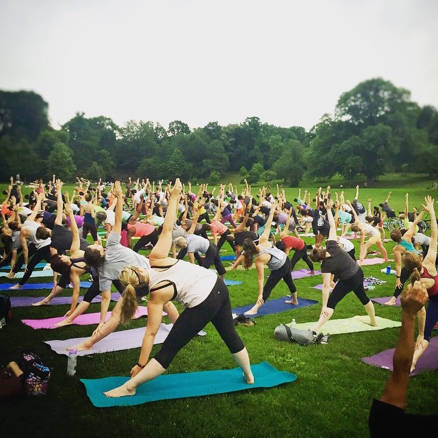 Mellow out in Prospect Park every Thursday this summer. Photo: Bend and Bloom