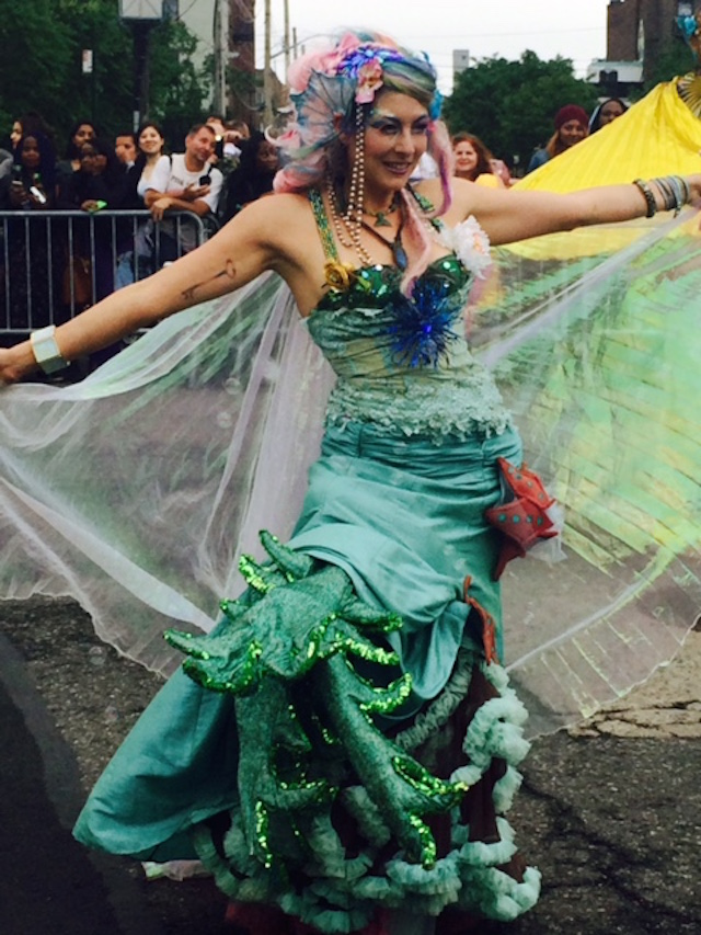 Take yourself to the Coney Island Mermaid Parade this weekend if you want to see just how weird and wonderful this city it. Photo: Kate Hooker