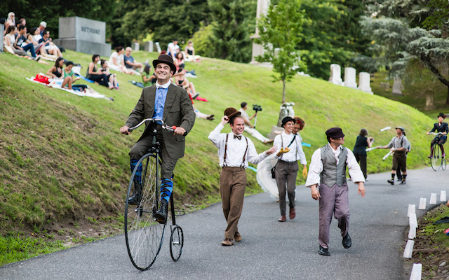 Get your old-timey fix at Green-Wood Cemetery on Saturday.