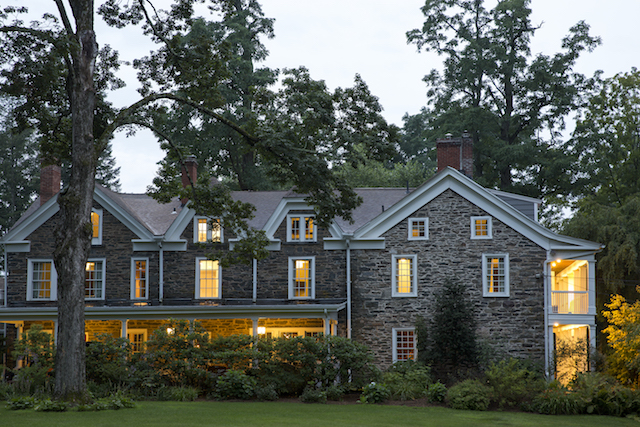 Hasbrouck House, a two-hour drive from NYC, is a historic property that's been updated with luxe amentities, spectacular grounds and a brand-new restaurant and bar. Photo: Emma Tuccillo
