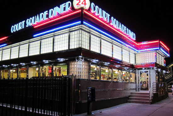 You can see why location scouts love it. Photo: Court Square Diner