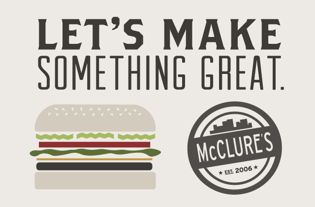 McClure's Pickles Let's Make Something Great
