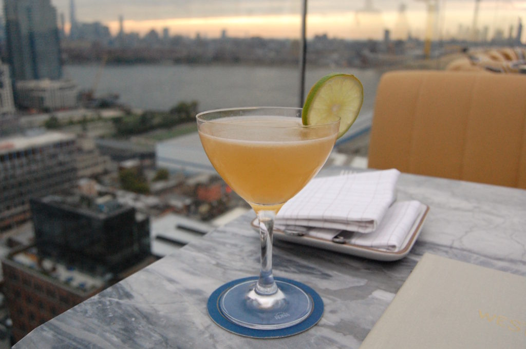 The cocktails are delicious, but paired with the view, who even cares? Photo: Georgia Kral