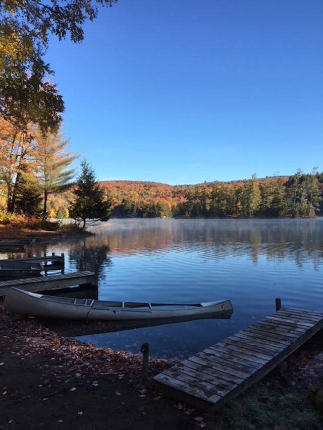 The Adirondacks are so beautiful this time of year it almost seems fake. Photo: Kate Hooker