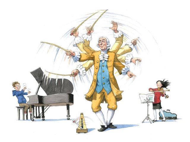 Think your child is too young for classical music? Mozart was composing by age 5. Photo: Lincoln Center