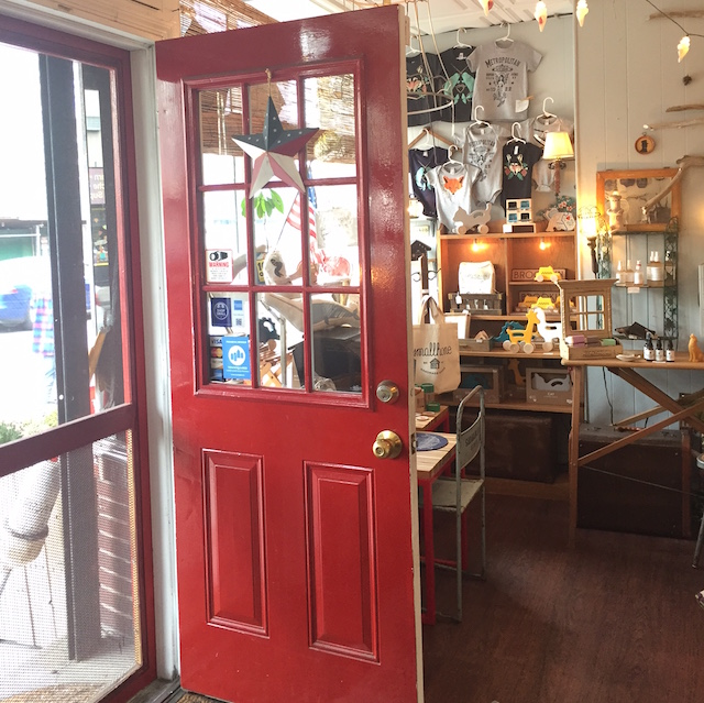 Come on in. The door is open and the vibe is welcoming. Photo: Meredith Craig de Pietro