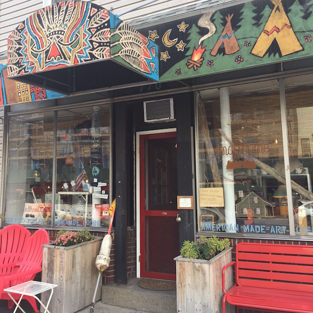"""This matchbox sized storefront sells """"big city, small batch"""" products. Photo: Meredith Craig de Pietro"""