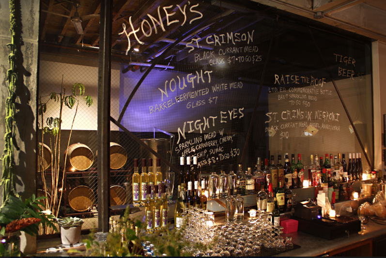 Try a few meads and cocktails made with it at Honey's before you buy a bottle. Photo: Enlightenment WInes