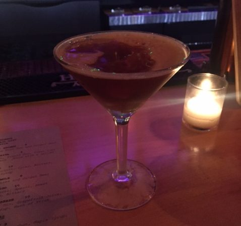 The Toronto, on the fall cocktail list, is a twist on a Manhattan. Photo: Ellen Killoran