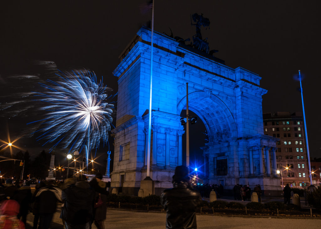 There will be fireworks at Prospect Park on New Year's Eve. Photo: Andrew Gardner