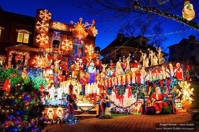 Dyker Heights is the New York City capital of Christmas. Photo: