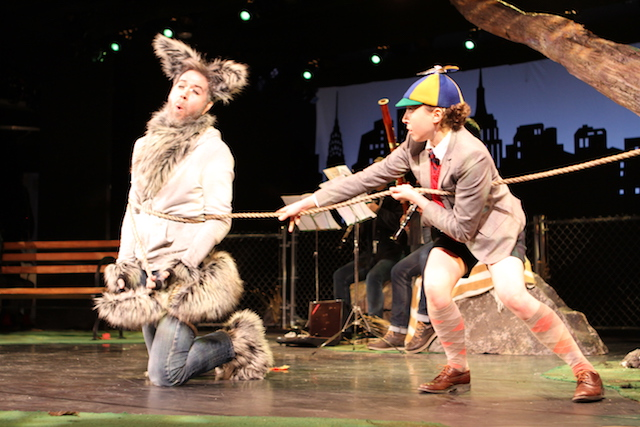 Peter & the Wolf at the Guggenheim is highbrow children's theater at its best. Photo: Works & Process at the Guggenheim