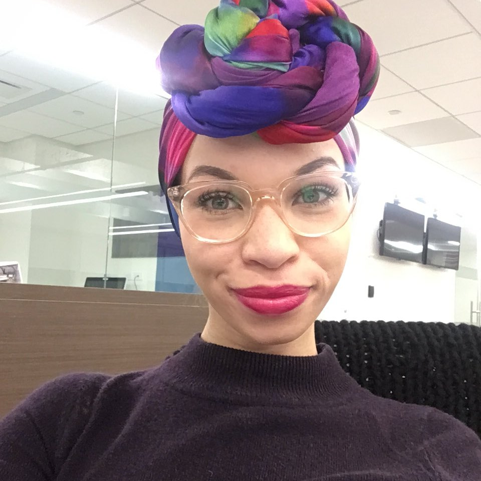 Blair Imani often choses a hat over a headscarf when traveling to avoid conflict at the airport. Photo: Blair Imani