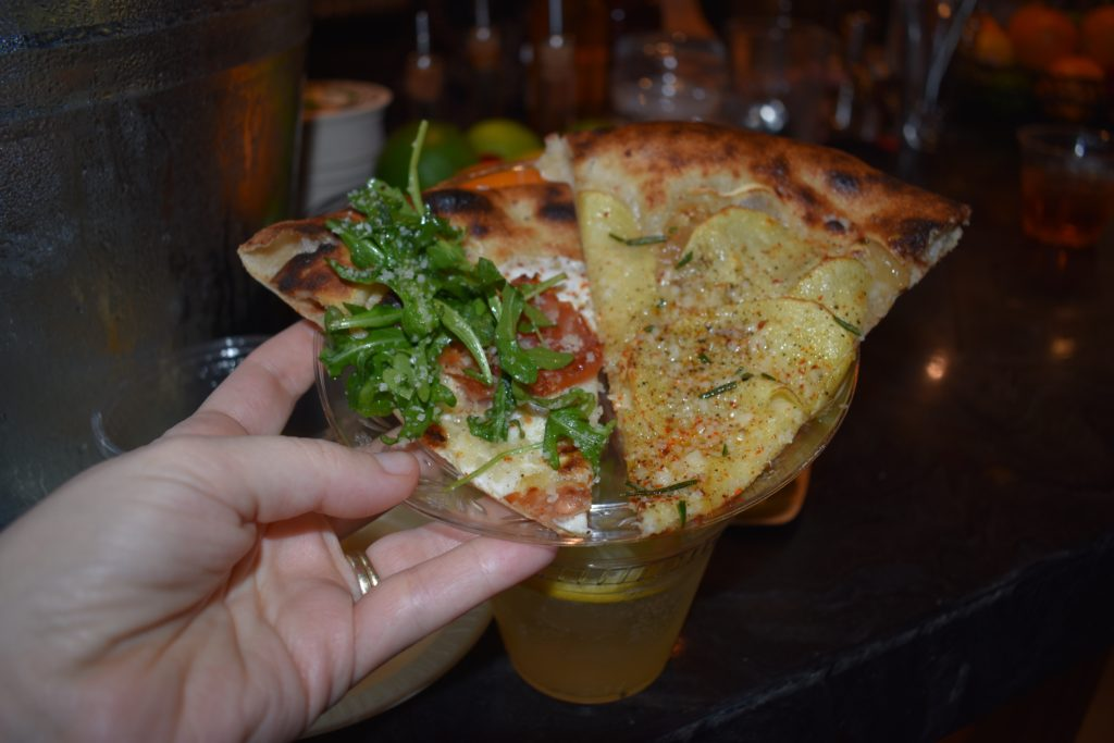It wouldn't be a Brooklyn food hall without pizza. Photo: Georgia Kral